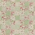 """Ткань для пэчворк (100x110см) 31467-60 из коллекции """"Durham Quilt"""" 80% хлопок, 20% лён """"Lecien"""" (Япония)"""