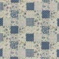 """Ткань для пэчворк (100x110см) 31467-70 из коллекции """"Durham Quilt"""" 80% хлопок, 20% лён """"Lecien"""" (Япония)"""