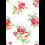 """Ткань для пэчворк (60x110см) 30967-10 из коллекции """"Flower Sugar"""" """"Lecien"""" (Япония)"""