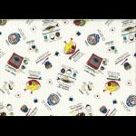 """Ткань для пэчворк (50x55см) 40905-10 из коллекции """"Food land"""" """"Lecien"""" (Япония)"""