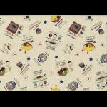 """Ткань для пэчворк (50x55см) 40905-11 из коллекции """"Food land"""" """"Lecien"""" (Япония)"""