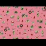 """Ткань для пэчворк (50x55см) 40906-20 из коллекции """"Food land"""" """"Lecien"""" (Япония)"""