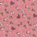 """Ткань для пэчворк (50x55см) 40722-20 из коллекции """"Girls Story"""" """"Lecien"""" (Япония)"""