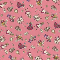"""Ткань для пэчворк (50x55см) 40722-20 из коллекции """"Girl's Story"""" """"Lecien"""" (Япония)"""