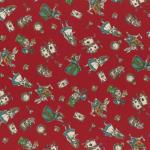 """Ткань для пэчворк (50x55см) 40722-30 из коллекции """"Girls Story"""" """"Lecien"""" (Япония)"""