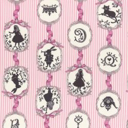"""Ткань для пэчворк (50x55см) 40723-20 из коллекции """"Girl's Story"""" """"Lecien"""" (Япония)"""