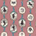 """Ткань для пэчворк (50x55см) 40723-30 из коллекции """"Girls Story"""" """"Lecien"""" (Япония)"""