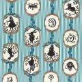 """Ткань для пэчворк (50x55см) 40723-70 из коллекции """"Girls Story"""" """"Lecien"""" (Япония)"""