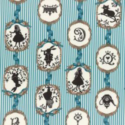 """Ткань для пэчворк (50x55см) 40723-70 из коллекции """"Girl's Story"""" """"Lecien"""" (Япония)"""