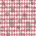 """Ткань для пэчворк (50x55см) 40724-20 из коллекции """"Girls Story"""" """"Lecien"""" (Япония)"""