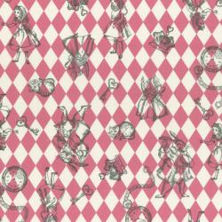 """Ткань для пэчворк (50x55см) 40724-20 из коллекции """"Girl's Story"""" """"Lecien"""" (Япония)"""