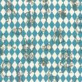 """Ткань для пэчворк (50x55см) 40724-70 из коллекции """"Girls Story"""" """"Lecien"""" (Япония)"""