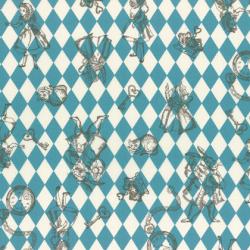 """Ткань для пэчворк (50x55см) 40724-70 из коллекции """"Girl's Story"""" """"Lecien"""" (Япония)"""