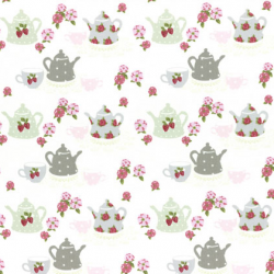 """Ткань для пэчворк (50x55см) 31388-10 из коллекции """"High Tea Collection"""" """"Lecien"""" (Япония)"""