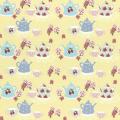 """Ткань для пэчворк (50x55см) 31388-50 из коллекции """"High Tea Collection"""" """"Lecien"""" (Япония)"""
