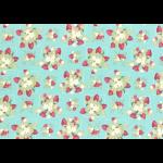 """Ткань для пэчворк (50x55см) 31543-70 из коллекции """"La conner"""" """"Lecien"""" (Япония)"""