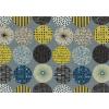 """Ткань для пэчворк (100x110см) 40713-70 из коллекции """"Lecre"""" 80% хлопок, 20% лён """"Lecien"""" (Япония)"""