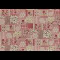 """Ткань для пэчворк (50x55см) 31455-20 из коллекции """"Little Heroines"""" """"Lecien"""" (Япония)"""