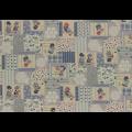 """Ткань для пэчворк (50x55см) 31455-70 из коллекции """"Little Heroines"""" """"Lecien"""" (Япония)"""