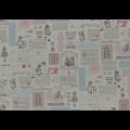 """Ткань для пэчворк (50x55см) 31457-70 из коллекции """"Little Heroines"""" """"Lecien"""" (Япония)"""