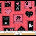 """Ткань для пэчворк 40068-30 """"Lecien""""(Япония)"""