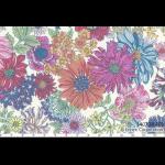 """Ткань для пэчворк (50x55см) 40738-10 из коллекции """"Memoire a Paris"""" """"Lecien"""" (Япония)"""