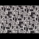 """Ткань для пэчворк (50x55см) 31713-100 из коллекции """"Moji Palette"""" """"Lecien"""" (Япония)"""