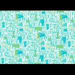 """Ткань для пэчворк (50x55см) 31713-71 из коллекции """"Moji Palette"""" """"Lecien"""" (Япония)"""