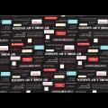 """Ткань для пэчворк (50x55см) 31714-100 из коллекции """"Moji Palette"""" """"Lecien"""" (Япония)"""