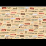 """Ткань для пэчворк (50x55см) 31714-11 из коллекции """"Moji Palette"""" """"Lecien"""" (Япония)"""