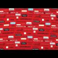 """Ткань для пэчворк (50x55см) 31714-30 из коллекции """"Moji Palette"""" """"Lecien"""" (Япония)"""