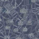 """Ткань для пэчворк (50x55см) 31528-99 из коллекции """"Mrs. Marchs vintage edition"""" """"Lecien"""" (Япония)"""