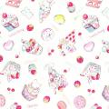 """Ткань для пэчворк (100x110см) 40702-10 из коллекции """"Nico Nico Land"""" """"Lecien"""" (Япония)"""