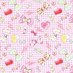 """Ткань для пэчворк (100x110см) 40703-20 из коллекции """"Nico Nico Land"""" """"Lecien"""" (Япония)"""