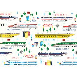 """Ткань для пэчворк (100x110см) 40732-10 из коллекции """"Nico Nico Land"""" """"Lecien"""" (Япония)"""