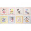 """Ткань для пэчворк (60x110см) 31133-10 из коллекции """"Old new fabric collection 30s"""" """"Lecien"""" (Япония)"""