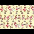 """Ткань для пэчворк (50x55см) 31370-50 из коллекции """"Old new fabric collection 30s"""" """"Lecien"""" (Япония)"""