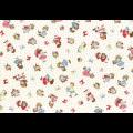 """Ткань для пэчворк (50x55см) 31371-10 из коллекции """"Old new fabric collection 30s"""" """"Lecien"""" (Япония)"""