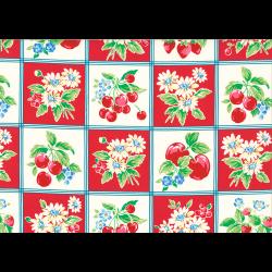 """Ткань для пэчворк (50x55см) 31736-30 из коллекции """"Orchard kitchen"""" """"Lecien"""" (Япония)"""