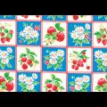 """Ткань для пэчворк (50x55см) 31736-70 из коллекции """"Orchard kitchen"""" """"Lecien"""" (Япония)"""