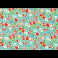 """Ткань для пэчворк (50x55см) 31737-60 из коллекции """"Orchard kitchen"""" """"Lecien"""" (Япония)"""