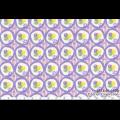 """Ткань для пэчворк (50x55см) 31146-110 из коллекции """"Retro 30s"""" """"Lecien"""" (Япония)"""