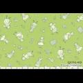 """Ткань для пэчворк (50x55см) 31553-60 из коллекции """"Retro 30s"""" """"Lecien"""" (Япония)"""