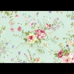 """Ткань для пэчворк (50x55см) 31360-60 из коллекции """"Rococo Sweet"""" """"Lecien"""" (Япония)"""