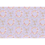 """Ткань для пэчворк (50x55см) 31362-110 из коллекции """"Rococo Sweet"""" """"Lecien"""" (Япония)"""