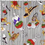 """Ткань для пэчворк (60x110см) 691-811 """"Loralie Designs"""" (США)"""