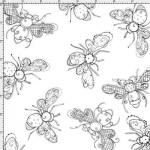 """Ткань для пэчворк (50x55см) 691-862 """"Loralie Designs"""" (США)"""