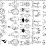 """Ткань для пэчворк (60x110см) 691-938 """"Loralie Designs"""" (США)"""