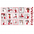 "Ткань для пэчворк панно 691-968 из коллекции ""Lady in red"" ""Loralie Designs"" (США)"