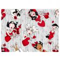"Ткань для пэчворк 691-971 из коллекции ""Lady in red"" ""Loralie Designs"" (США)"